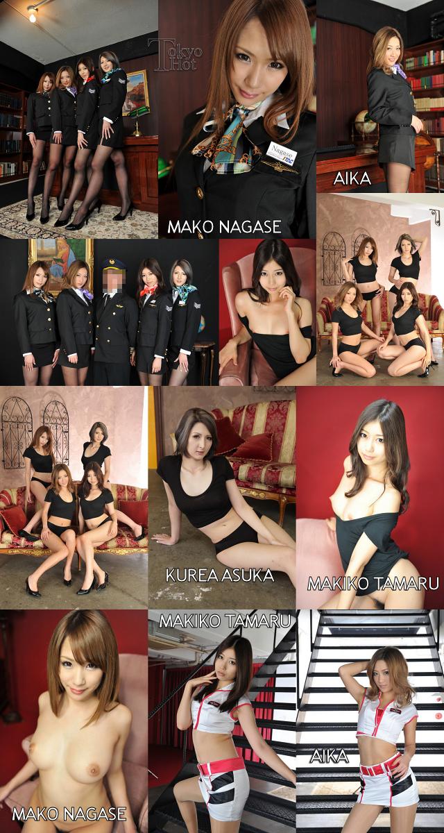 Tokyo Hot n0809 AIKA,田丸麻紀子,長瀬真子,明日香クレア 東熱大乱交2012 Part2