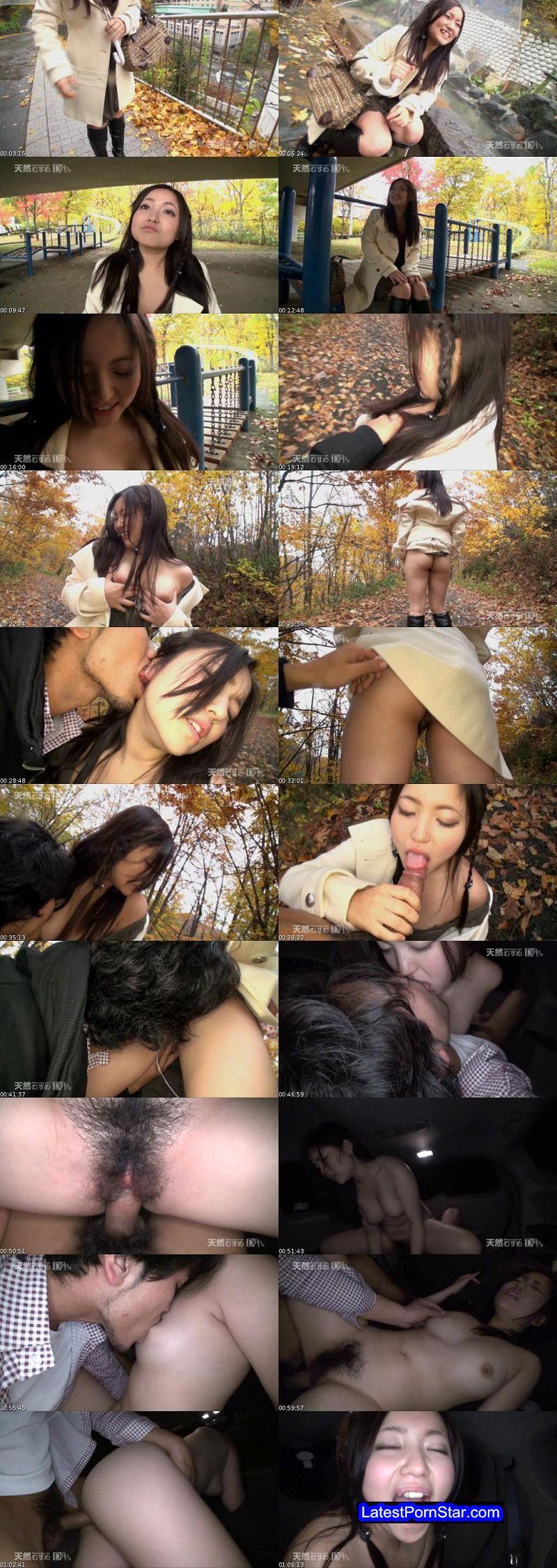 天然むすめ 10musume 041313_01 足湯で、公園で、森で、冷えた指を膣内で温めて!