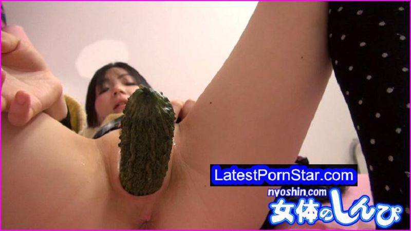 nyoshin n717 ゆう / 生野菜挿入オナニー / B: 86 W: 58 H: 88 ゆう Nyoshin