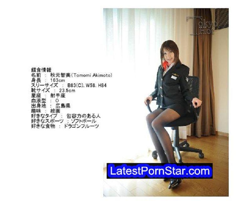 Tokyo Hot n0529 上玉CA嬲嬲姦孕々汁乗務 秋元智美