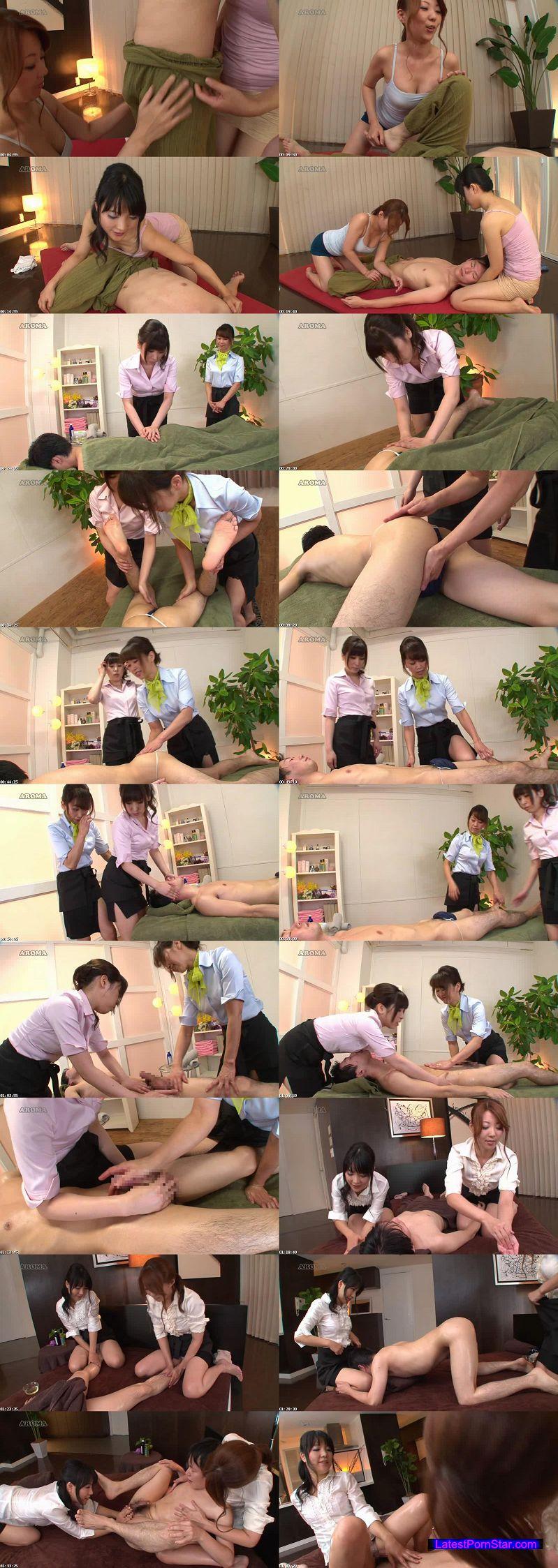 [ARM-325] オトナの感じるマッサージ 双姫コース:編