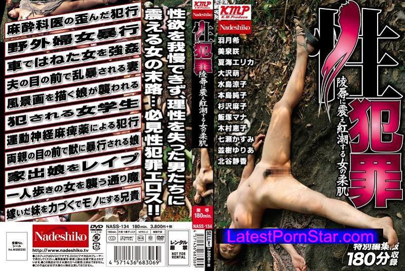 [NASS-134] 性犯罪 陵辱に震え紅潮する女の柔肌