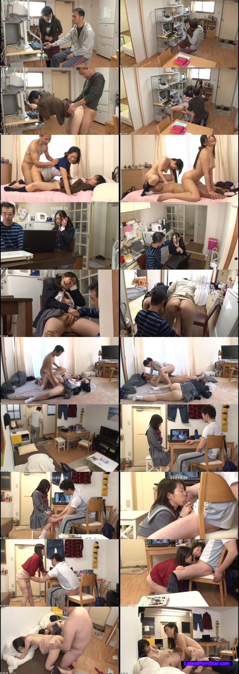 [NHDTA-537] パソコンに入っていた自分の母親のハメ撮り動画で興奮した隣の家の娘と恥ずかしい姿を見られ拒めなくなった母親を並べて親子丼