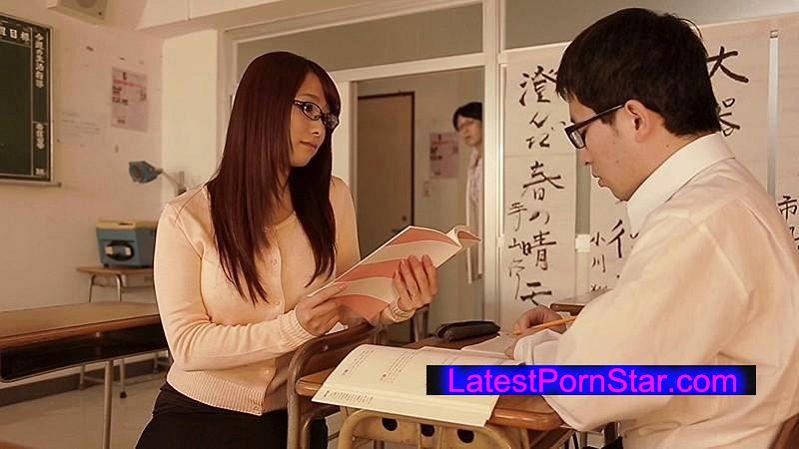 [STAR-534] 白石茉莉奈 弱みを握られた人妻女教師の羞恥授業