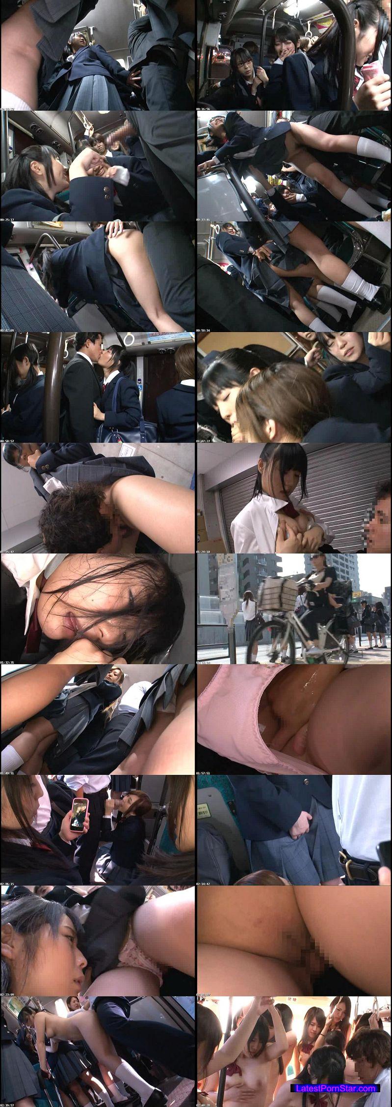 [NHDTA-620] 登下校中に思わずチ○ポを触ってしまい我慢できず周りの目も気にならないほど腰をフリ通学バスSEXにハマる女子校生