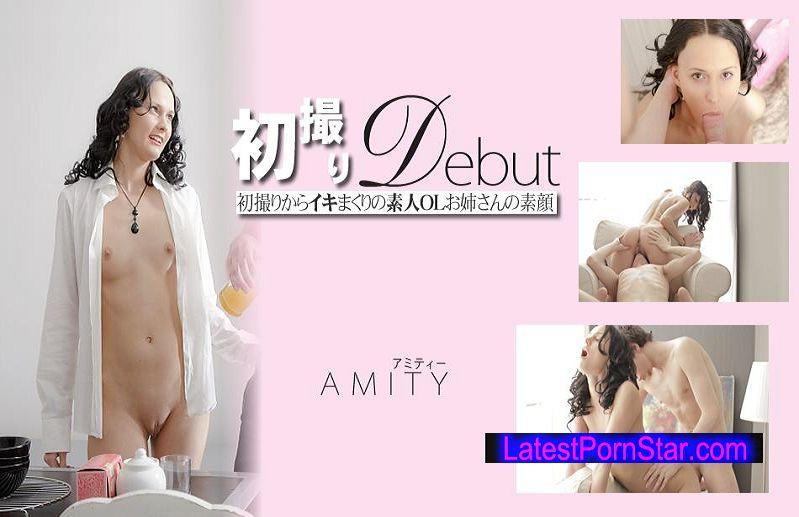 金8天国 Kin8tengoku 1195 初撮りからイキまくりの素人OLお姉さんの素顔 初撮りDEBUT / アミティー