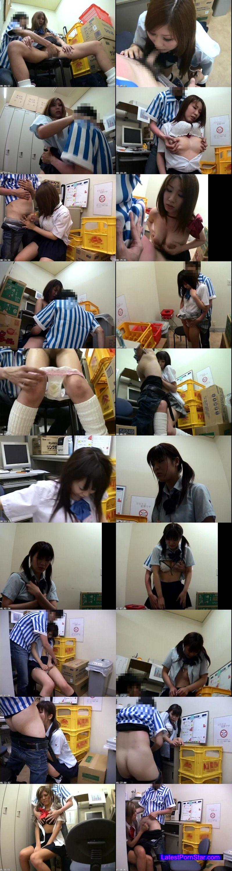 [DKYS-04] 某コンビニオーナー流出 万引き女子校生全裸謝罪