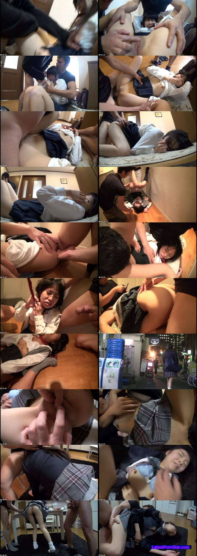 [AOZ-217Z] ストーキングの末自宅に押し込まれて犯される女子校生中出しレイプ