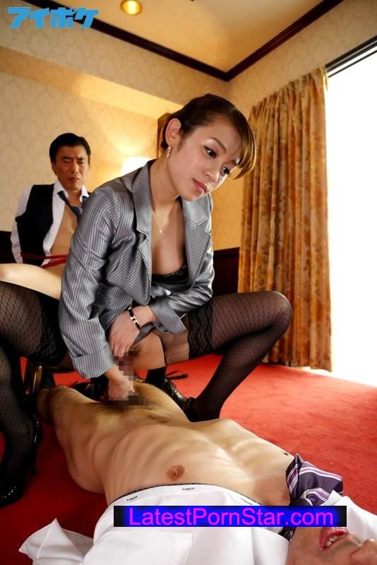 [IPZ-555] 極痴女秘書の華麗なるマラ遊び Shelly