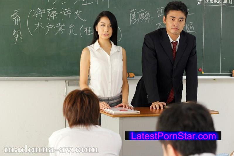 [JUX-573] 人妻女教師 私は、放課後毎日犯される。 恵さわ