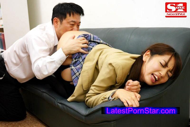 [SNIS-377] 犯された女子校生 親友の身代わりに輪姦される優等生 美咲かんな