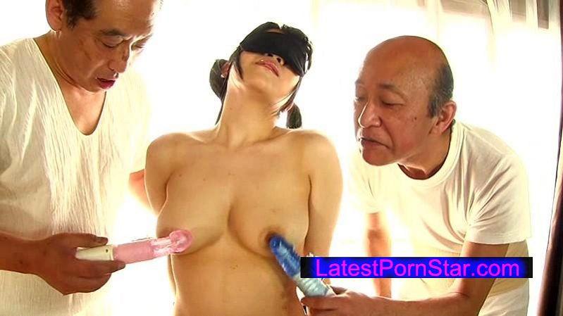 [TMHK-014] ロリ乳首洗濯バサミ 悶絶娘かのん 久我かのん