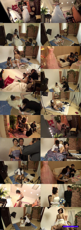 [CLUB-181] 結婚式前に写真スタジオで撮影するカップルの新郎が待つ隣で新婦を寝取りレイプ4