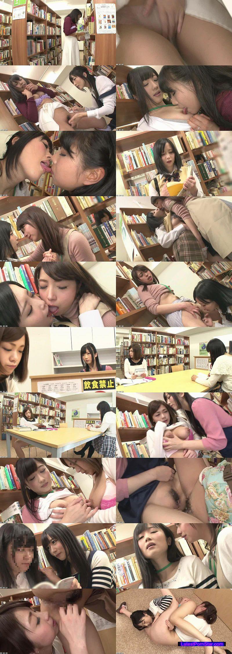 [HUNTA-017] 司書の私(レズビアン)が勤める図書館には時々、恥ずかしそうにしながらHな書籍(官能小説、How to本、ヌード本など)を探しに女子がやって来る。 4