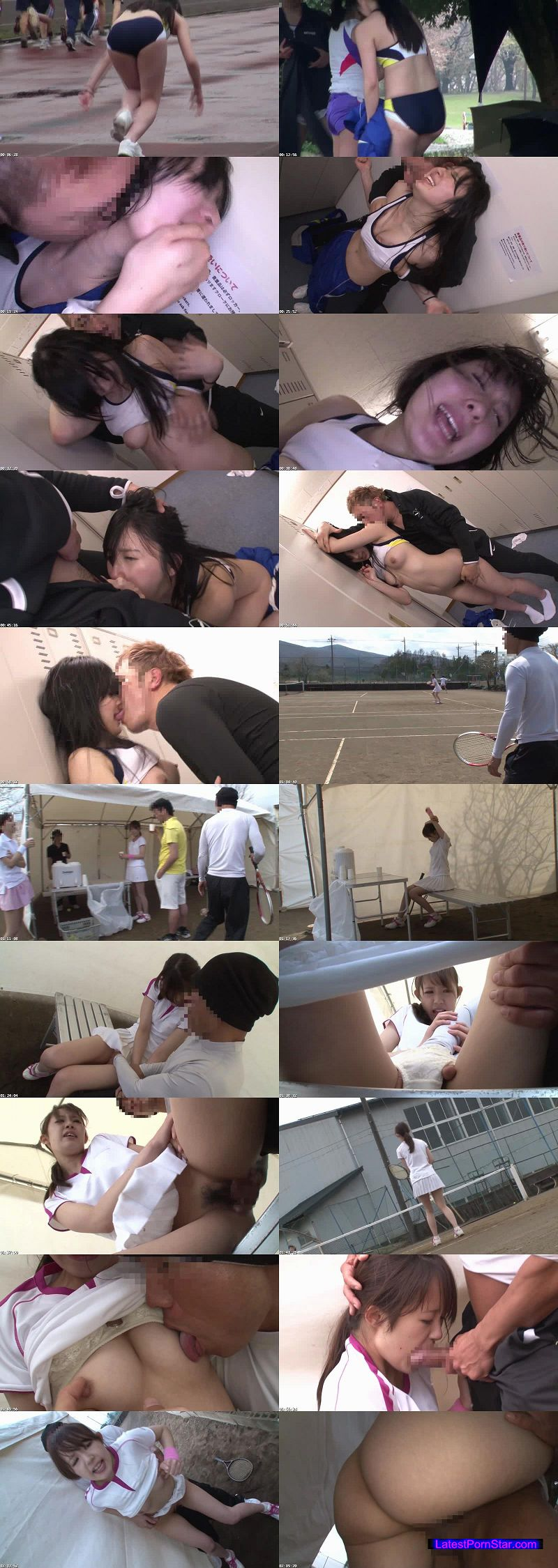 [NHDTA-688] 女子スポーツ選手痴漢〜陸上、テニス、剣道〜