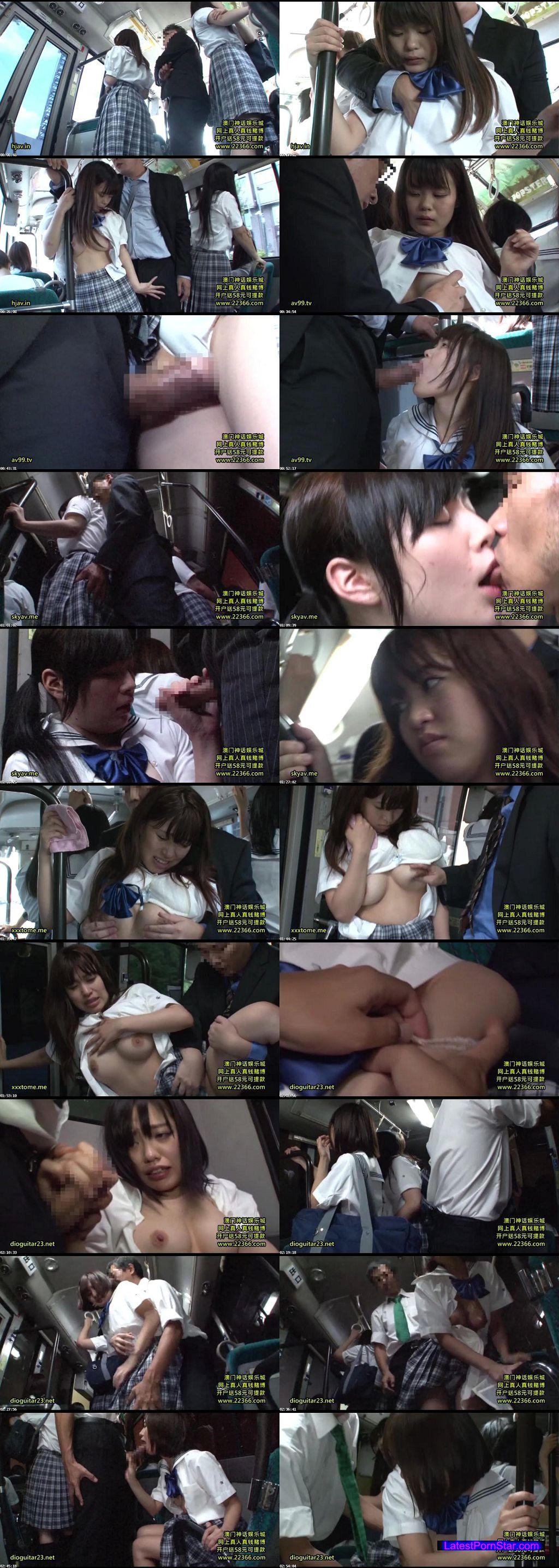 [DANDY-453] 「間違えたフリして女子校通学バスに乗り込んでヤられた」 これで発育途上!?制服では隠しきれないおっぱい女子校生Ver.
