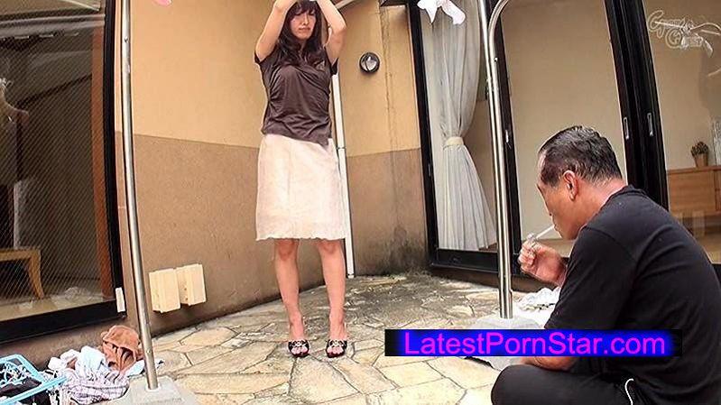 [GVG-210] 物干し竿に拘束された巨乳妻 松井優子