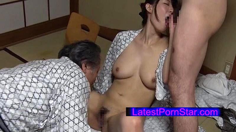 [JOHS-017] 女旅湯 中年男たちと酒池肉林乱交