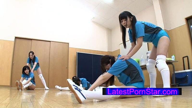 [DIY-054] 田舎の女子校バレーボール部の部員5人の処女ま○こで童貞を卒業した僕。