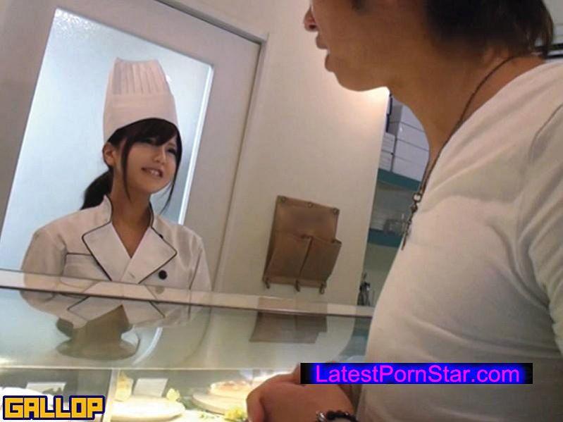 [GNE-123] 街で噂の巨乳美人店員さんを口説いてAV撮影 2