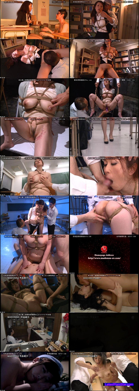 [JUX-756] 熟れた女教師 メス犬縛り 秋山静香