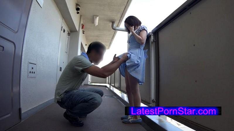 [LOVE-215] 初撮り、近所で見つけたGカップ少女 すみれ