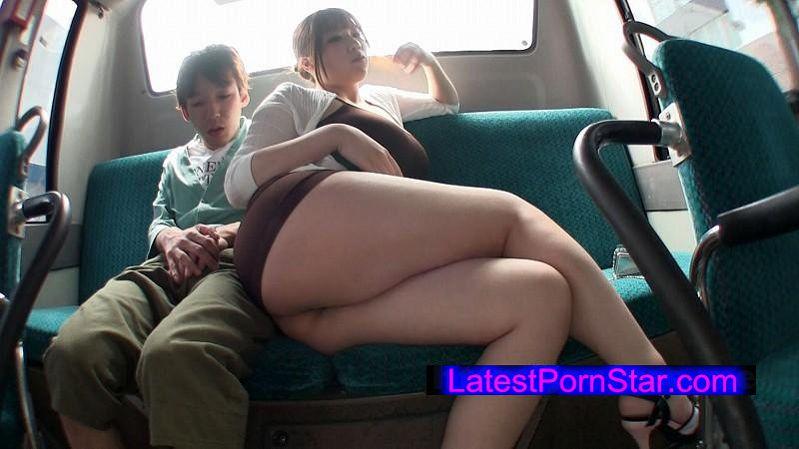 [MAGURO-064] 七草ちとせの肉弾痴漢バス エロすぎる爆乳ミニスカTバック痴女乗車