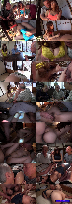 [NITR-184] 絶倫老人たちに孕ませ輪姦されイキまくる巨乳嫁 II 七原あかり