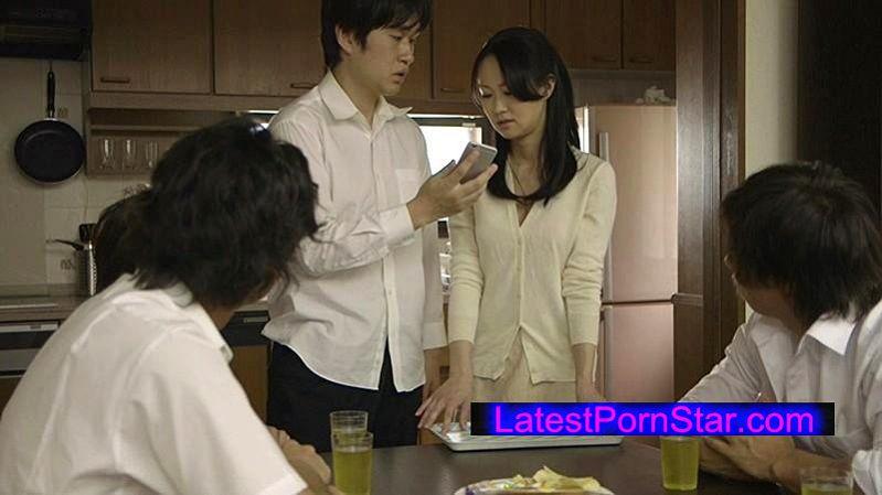 [HBAD-300] 自宅を占領され生徒達に輪姦される女教師 菅野さゆき