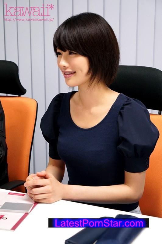 [KAWD-694] 美少女発掘!!現役女子大生kawaii*専属AVデビュー!! 緒奈もえ