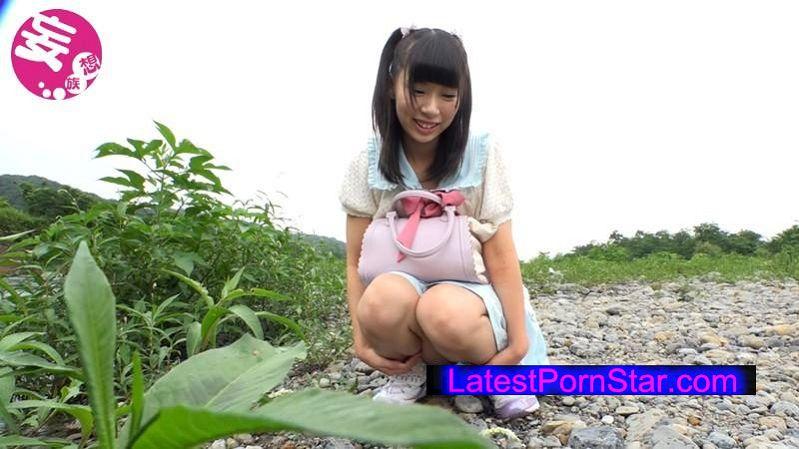 [KTKX-110] ド田舎の川辺で見つけた日焼けロリィーちゃん 舞園にこ18才