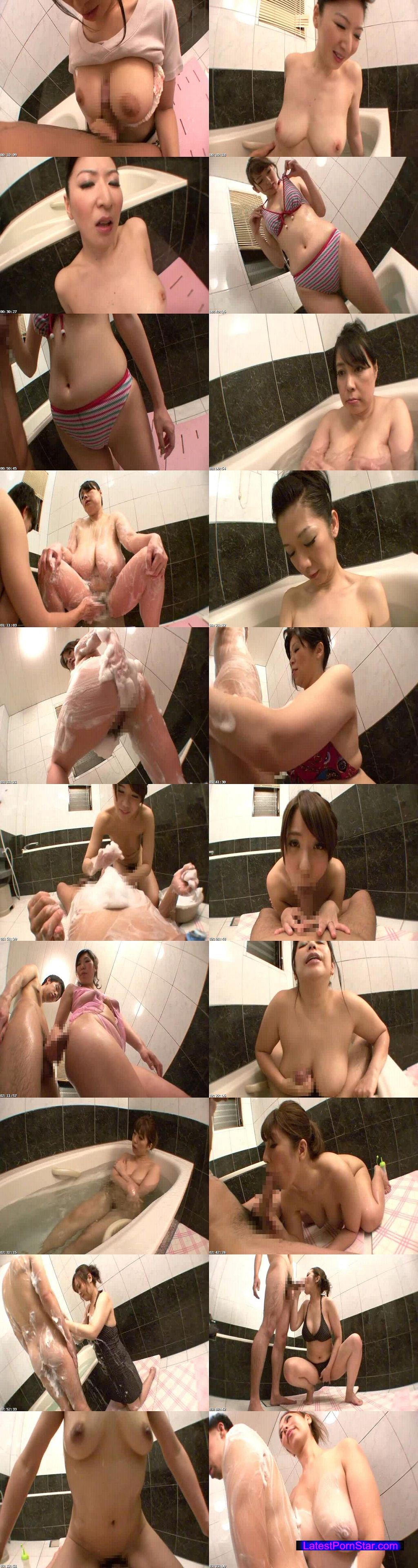 [MOT-079] 巨乳ドスケベ母たちの風呂淫行