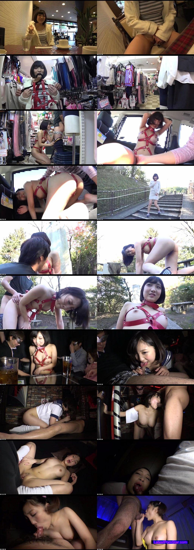 [LOVE-246] 野外連れまわしゲリラ露出ド変態な広瀬うみちゃんとハプバーで中出しぶっかけ輪姦調教