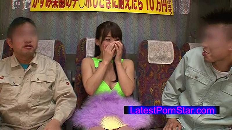 [REAL-576] かすみ果穂のチ●ポしごきに耐えたら10万円差し上げます