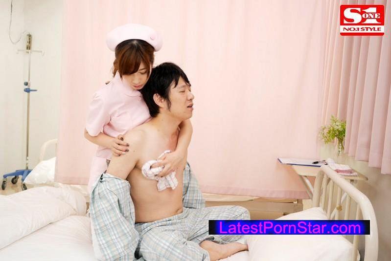 [SNIS-606] 無意識のうちに胸を押し当てる巨乳お姉さんがけしからん 奥田咲