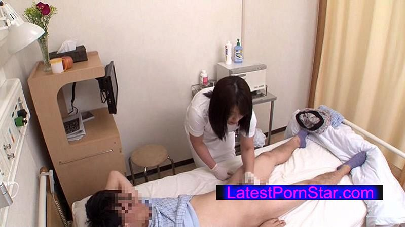 [DANDY-478] 「あの人にもう一度逢ってヤられたいスペシャル 採精室で優しくヌいてくれたあの熟年看護師と童貞君を2人きりにしたら…まさかの生ハメ!膣内で暴発されて何度も中出し◆」