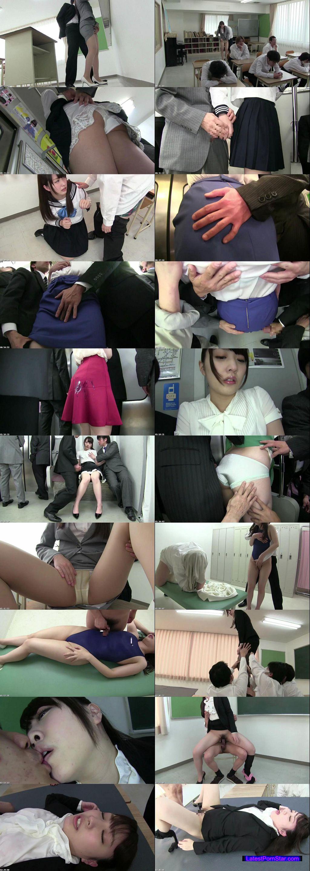 [FNK-022] 私を囲んで下さい、そしてスカートを汚して下さい 教育実習生・優希音の妄想着衣痴漢