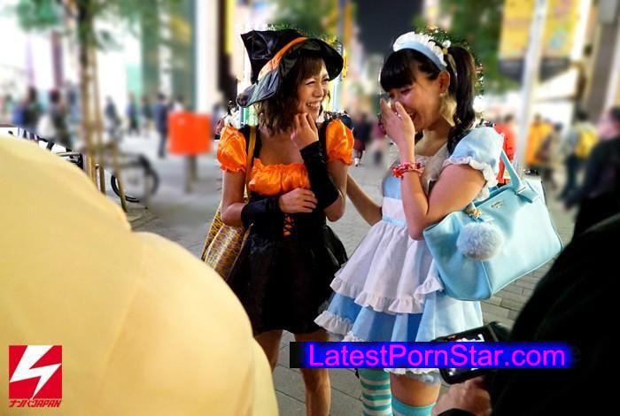 [NNPJ-148] ハロウィン素人中出しナンパ 街角でひときわ目立つ可愛い女子をパーティールームに連れ込んでノリと勢いで中出しSEX!