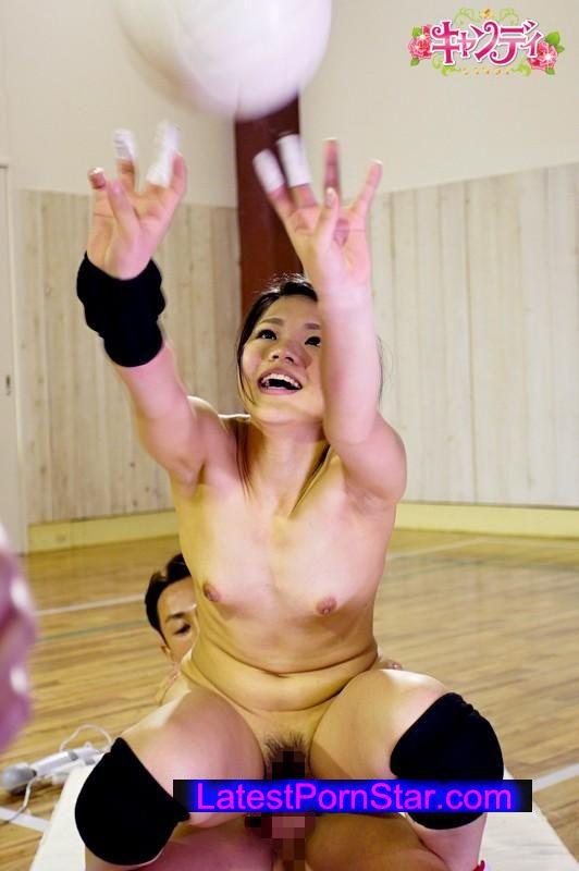 [CND-173] 現役女子バレーボール選手AVデビュー 都内バレーボール強豪校で全国大会出場経験有りの本格実力派! 葉月渚