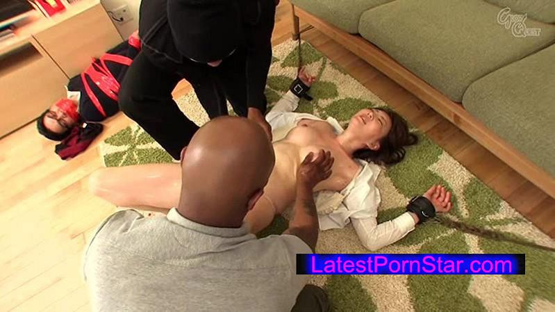 [GVG-287] 黒人の極太チ●ポに欲情する人妻 華月さくら