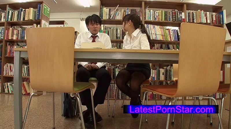 [GS-038] 放課後の学校 誰もいない図書館で調べ物をしていたら校内一のソソる女教師がヤッテ来て二人っきりに…