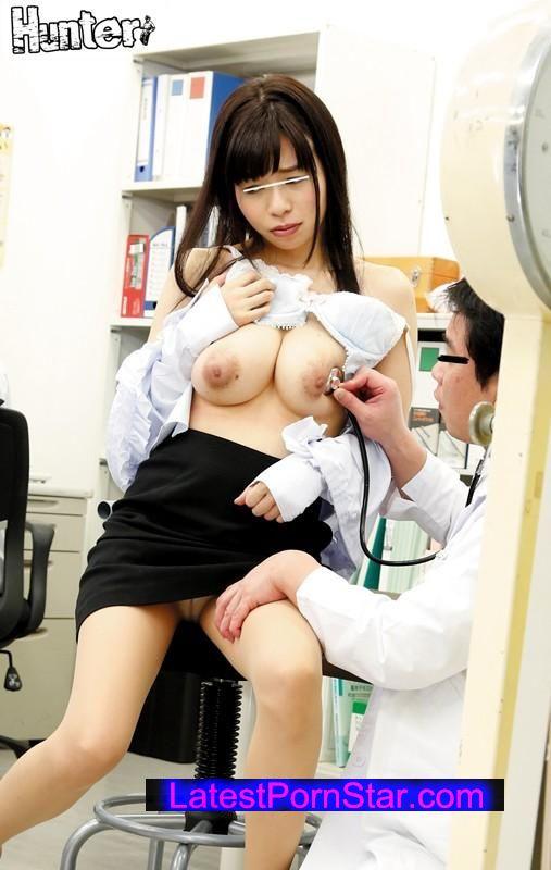 [HUNTA-153] 医者の知り合いに頼み込んで助手になりすまし企業の健康診断に潜入!その1.全裸でセクハラ体重測定!その2.乳首をコリコリ責め!その3.おっぱいに媚薬を塗りまくり その4.膣内に体温計挿入 その5.アナル検診…等 それ以外にも…