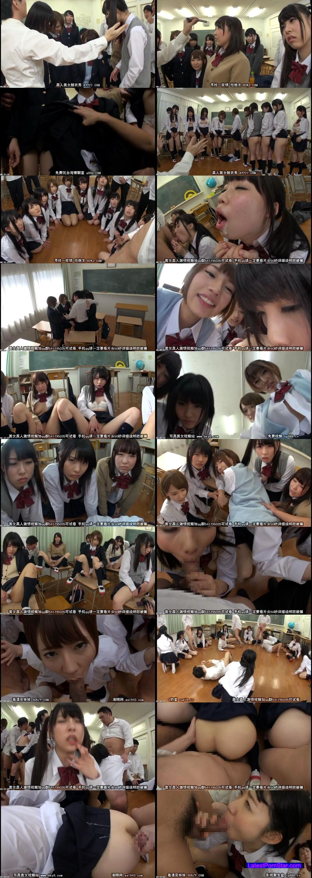 [T28-452] 女子校生集団催眠中出し乱交