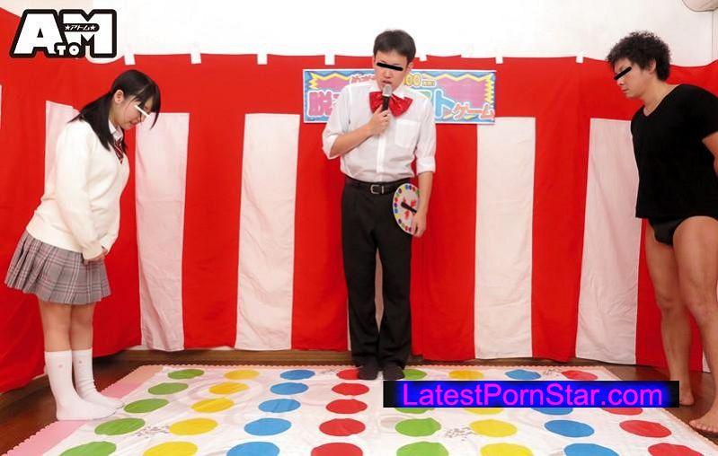 [ATOM-246] パンチラ&ポロリてんこ盛り!素人女子校生限定!目指せ!賞金100万円!ツイ●ター野球拳