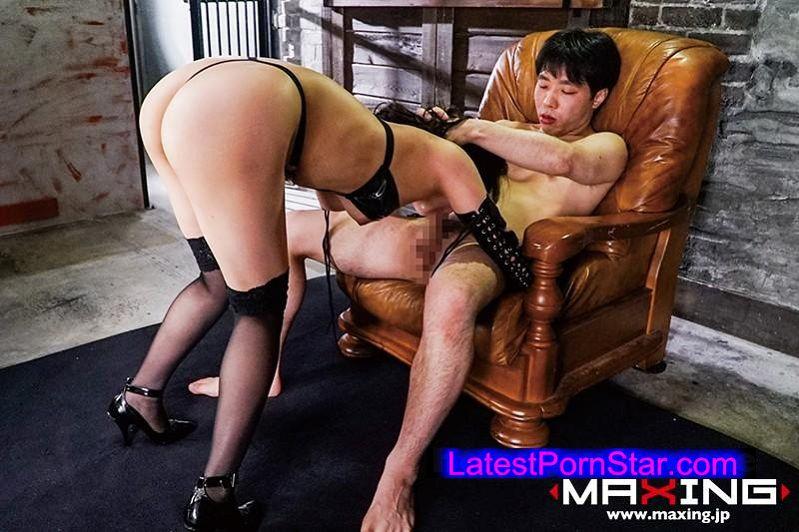 [MXGS-881] 変態マゾヒスト ボンテージ嬢 イラマチオ調教 松下美織