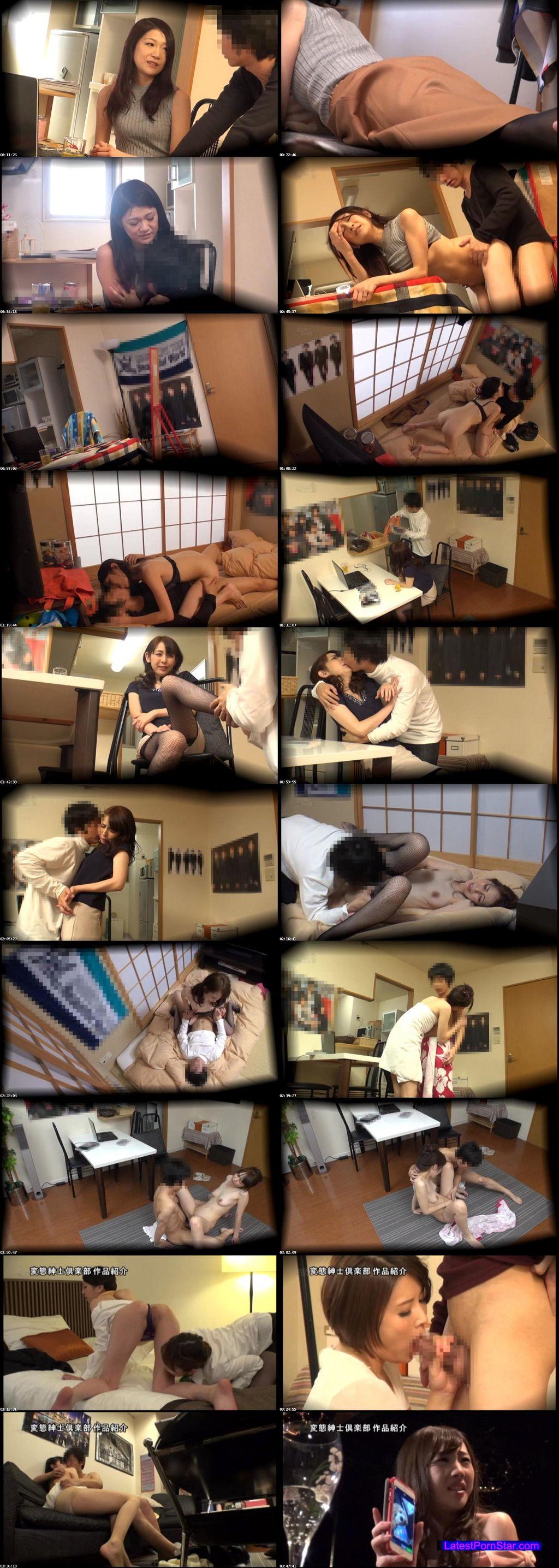 [CLUB-305] 完全盗撮 同じアパートに住む美人妻2人と仲良くなって部屋に連れ込んでめちゃくちゃセックスした件。其の四