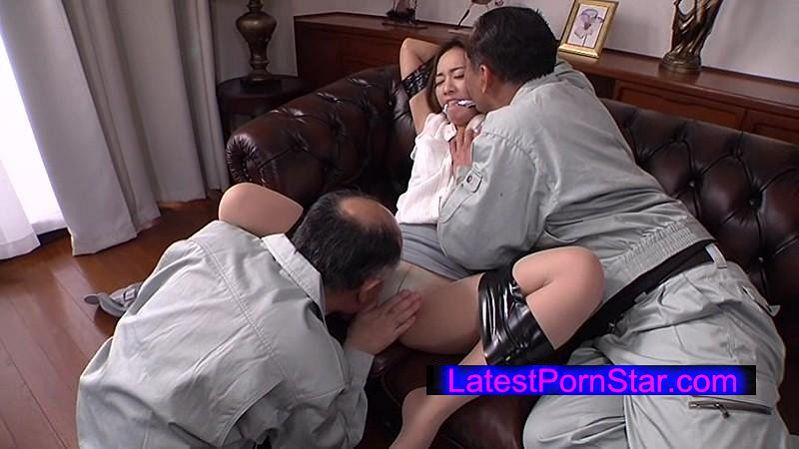 [DDU-034] 夫の目の前で犯され続けて淫乱に悶える人妻 たかせ由奈