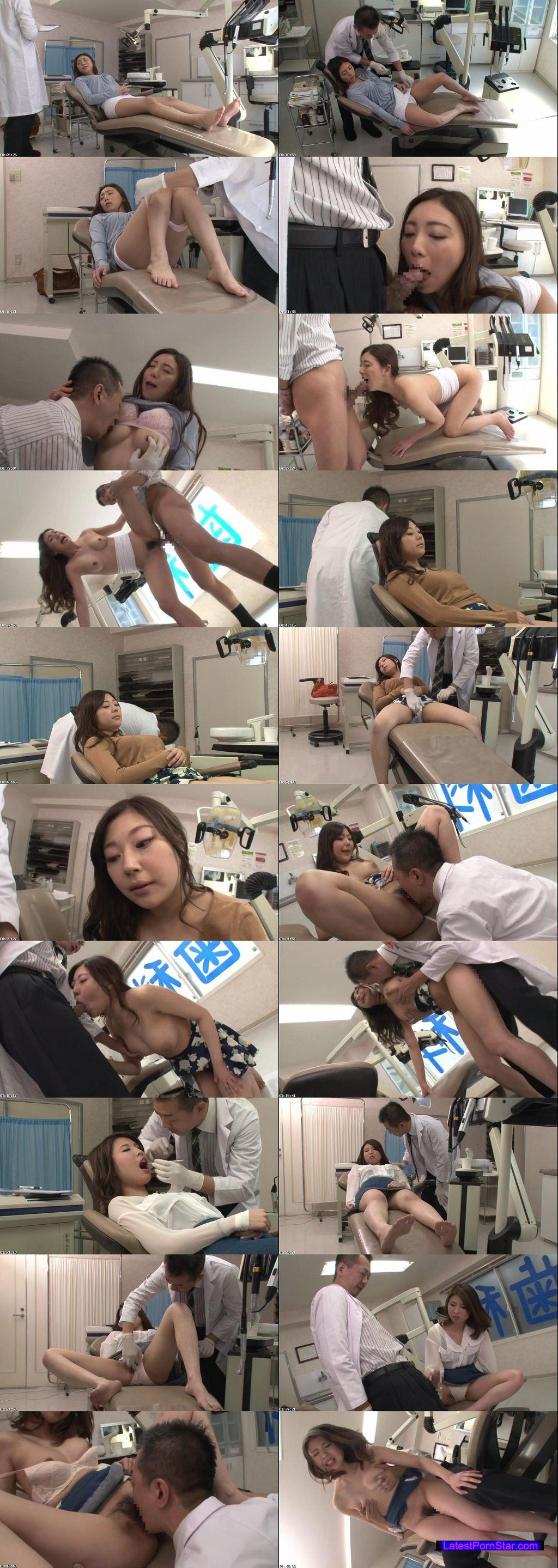 [GS-050] 歯の治療中に居眠りするソソるお姉さんの美しい寝顔と唇に思わず勃起!!ごまかそうとしたら、からかいながら勃起チ○ポを触りだし、抜いてくれた!!