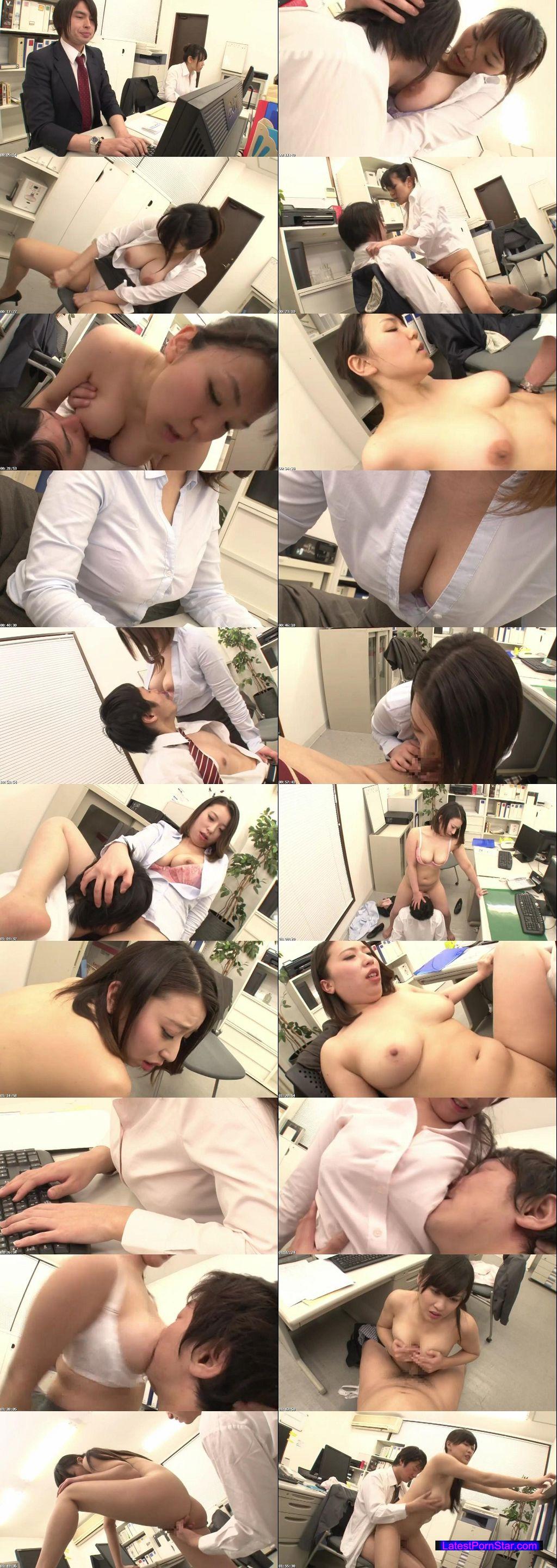 [GS-051] 今年入った新入社員はブラウスがはち切れそうな巨乳女子!目立ち過ぎる胸元にソソられていると、あまりにガン見し過ぎて気付かれた!セクハラだと訴えられる…と思ったら、自らの胸を僕の顔に圧迫させドS丸出しで迫ってきた!!