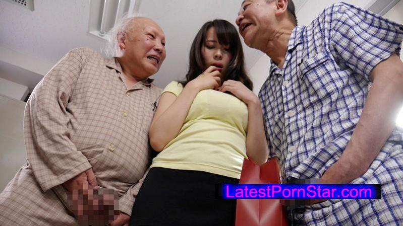 [GVG-330] 病院で噂の老人たちの性処理をする巨乳嫁 真木今日子